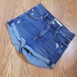 Garage retro high waist short 01
